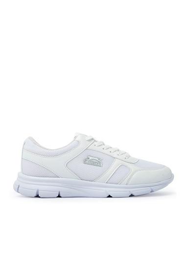 Slazenger Escape I Sneaker Unisex Ayakkabı K.Gri Beyaz